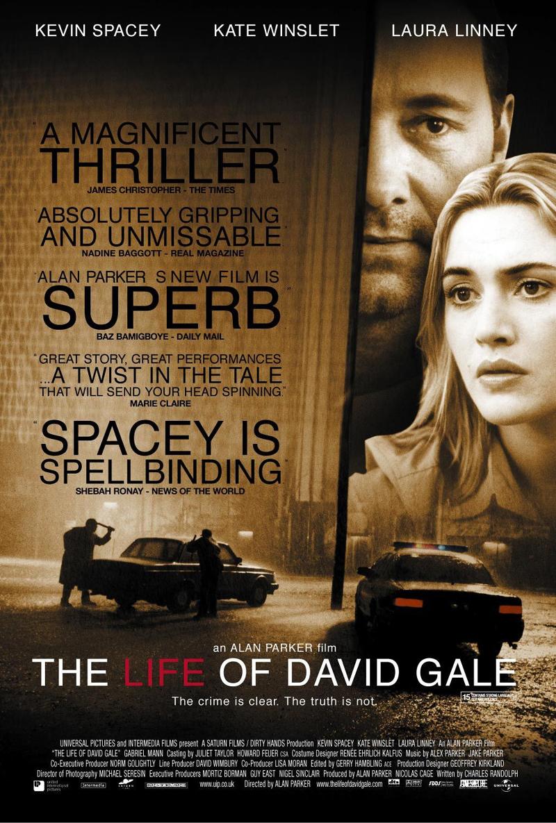 Alan Parker poster David Gale 2