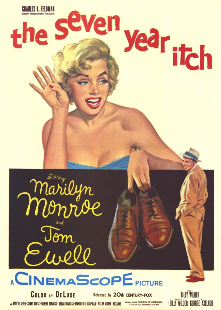 Evelen Keyes 5 The Seven Year Itch poster 1
