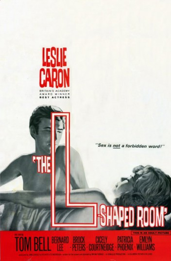 Leslie Caron 5 scan The L-Shaped Room poster