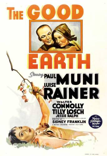 Luise Rainer 03 The Good Earth poster
