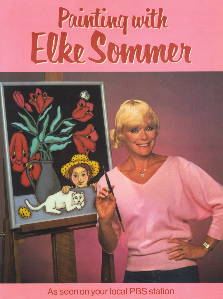 Sommer, Elke - Painting with Elke Sommer