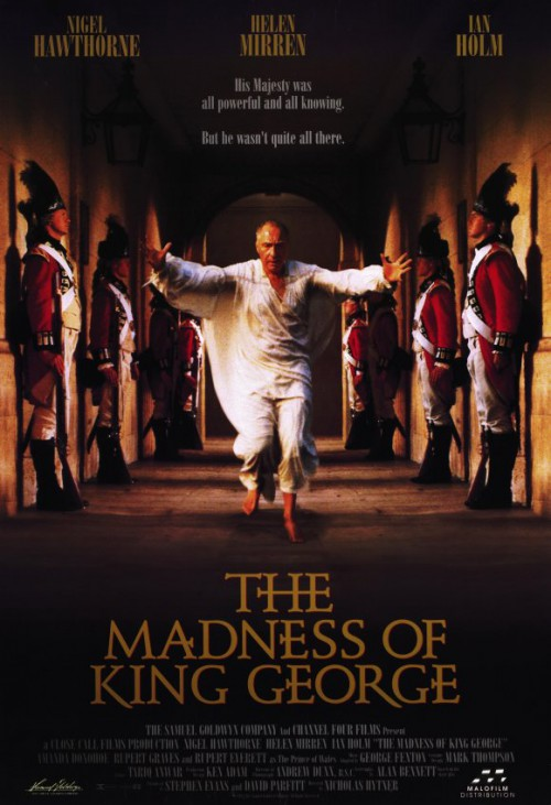 San Goldwyn The Madness of King George poster