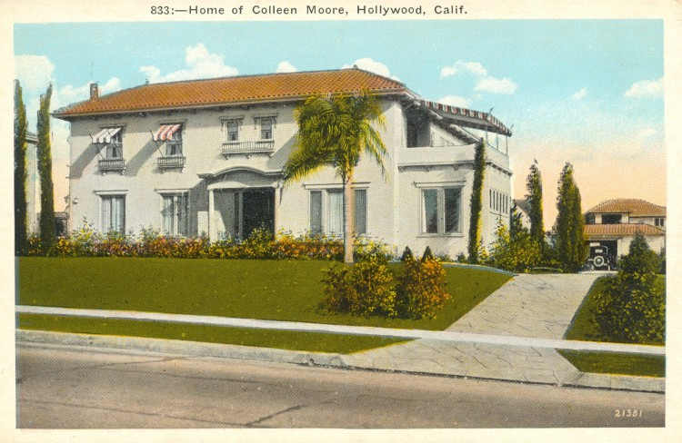 Residence of Colleen Moore (1899-1988)