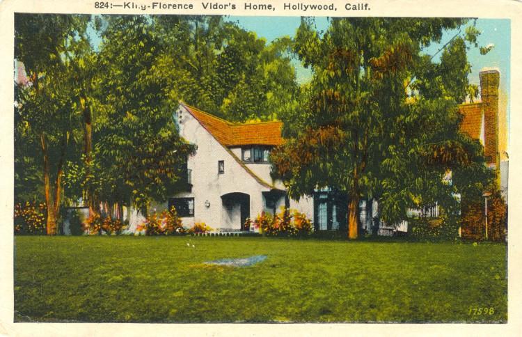 Residence of Florence Vidor (1895-1977)