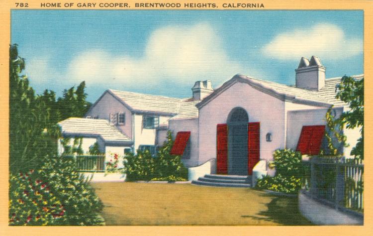 Residence of Gary Cooper (1901-1961)