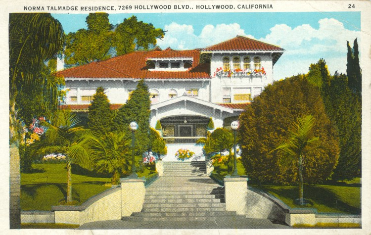 Residence of Norma Talmadge (1894-1957)