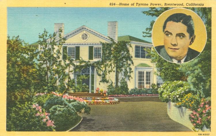 Residence of Tyrone Power (1914-1958)