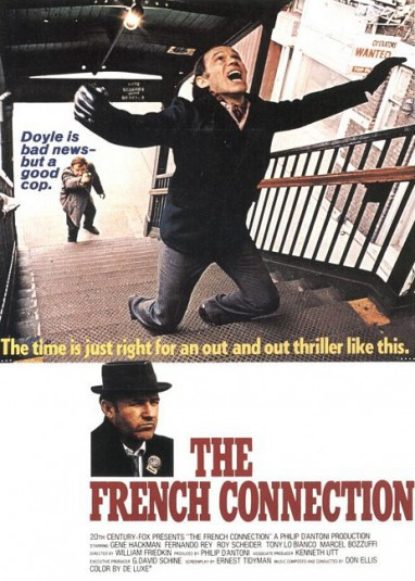William Friedkin poster The French Connection