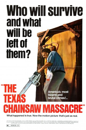 Tobe Hooper 3 poster Texas Chain Saw Massacre