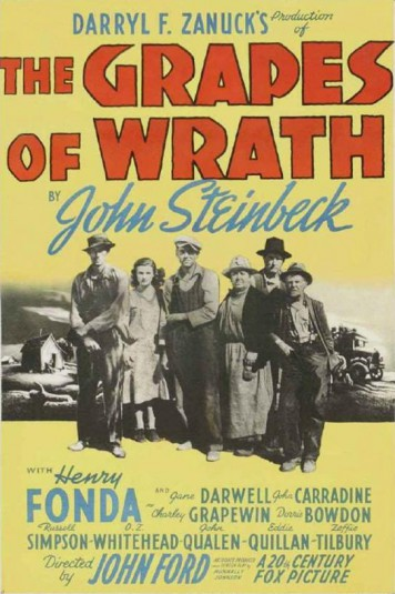Jon Voight 6 poster The Grapes of Wrath