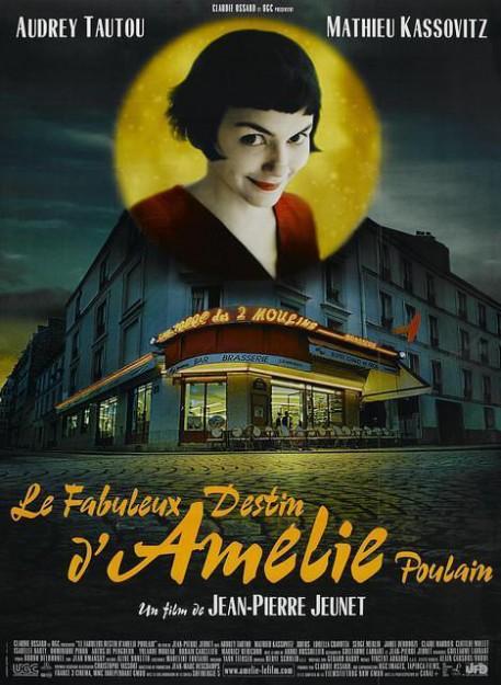 Audrey Tautou poster Amélie Poulain 02