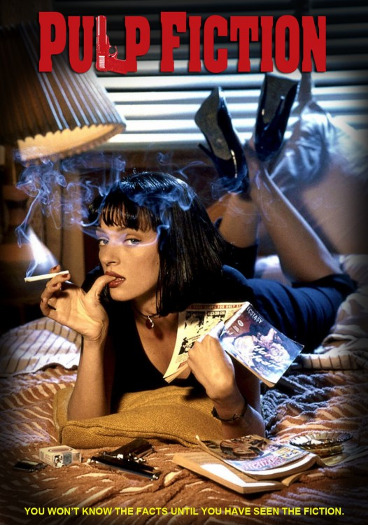 Auidrey Tautou Pulp Fiction