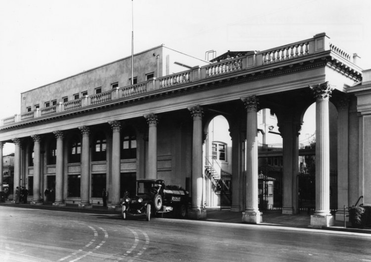 MGM main gate around 1917