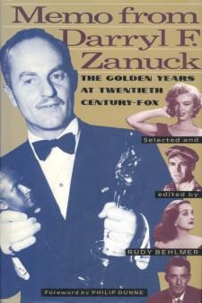 Behlmer, Rudy - Memo from Darryl F Zanuck