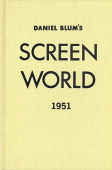 Blum, Daniel - Screen World 1951