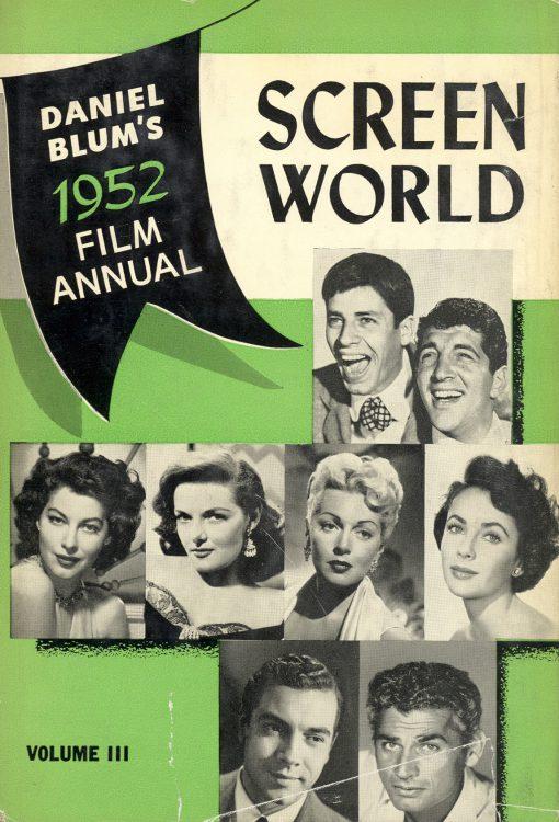 Blum, Daniel - Screen World 1952