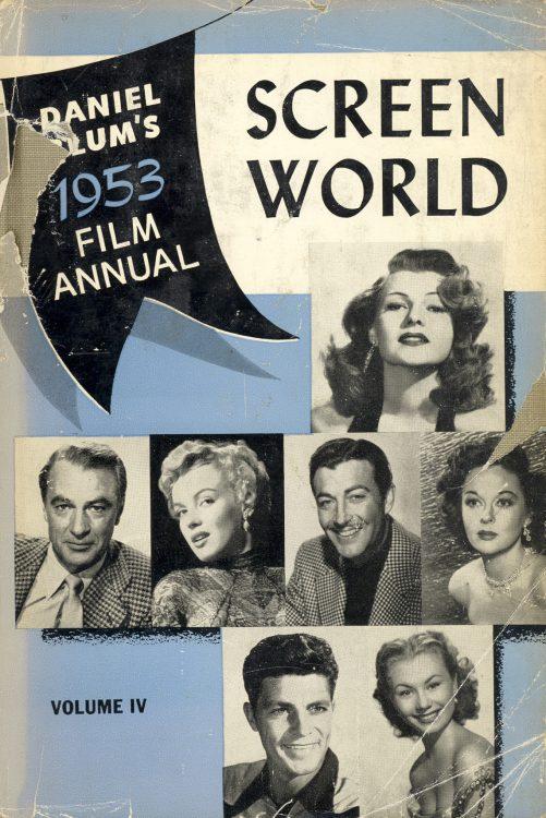 Blum, Daniel - Screen World 1953