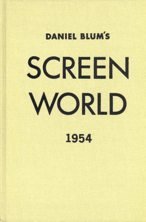 Blum, Daniel - Screen World 1954