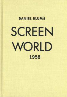 Blum, Daniel - Screen World 1958