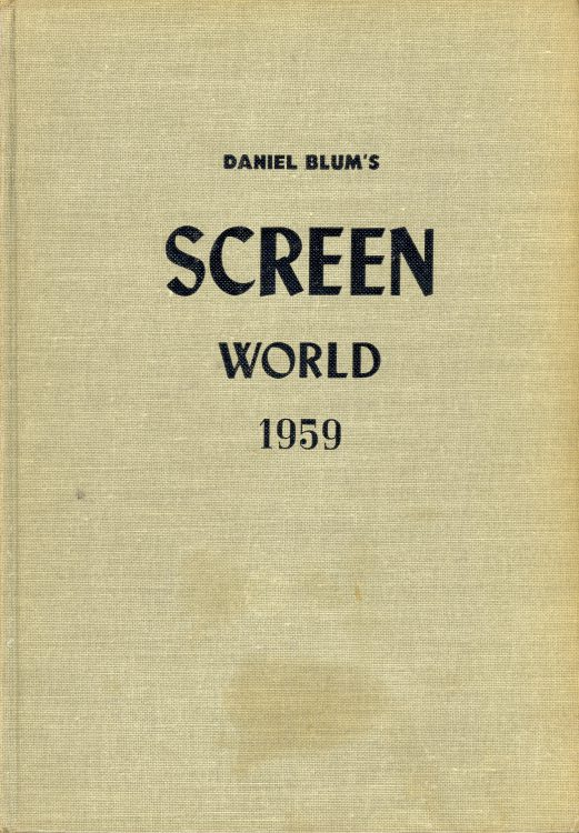 Blum, Daniel - Screen World 1959