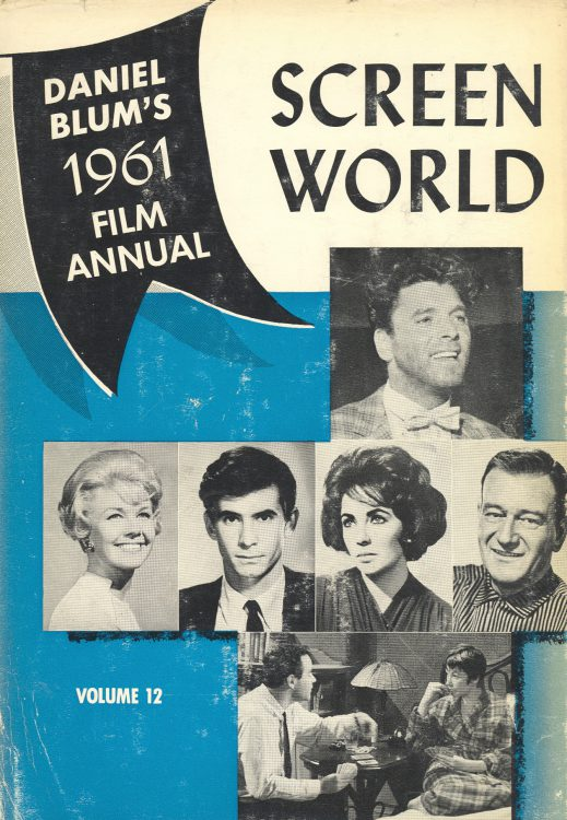 Blum, Daniel - Screen World 1961