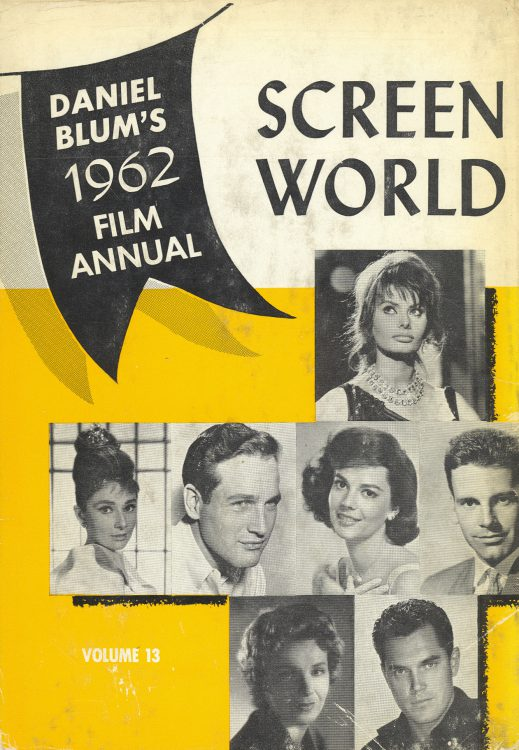 Blum, Daniel - Screen World 1962 bis