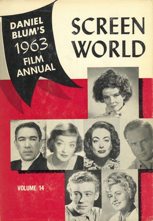 Blum, Daniel - Screen World 1963