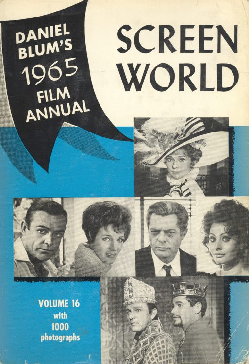 Blum, Daniel - Screen World 1965