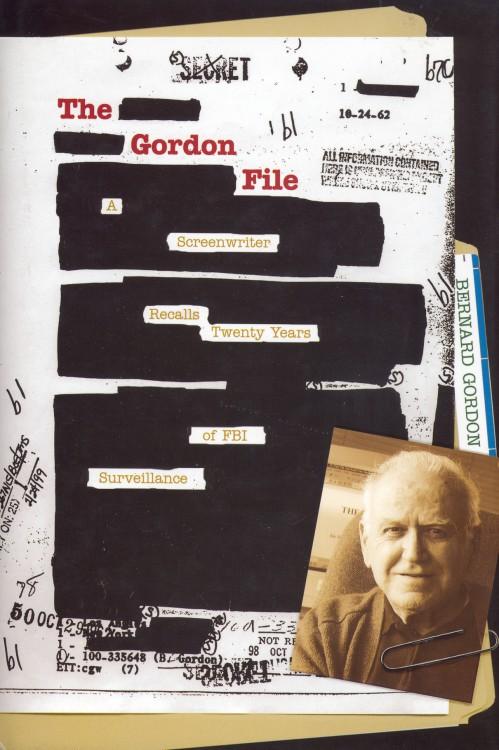 Gordon, Bernard - The Gordon File