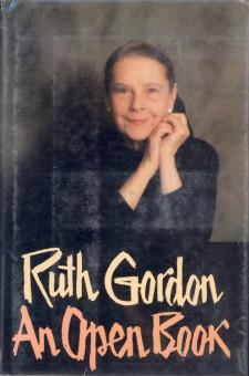 Gordon, Ruth - An Open Book