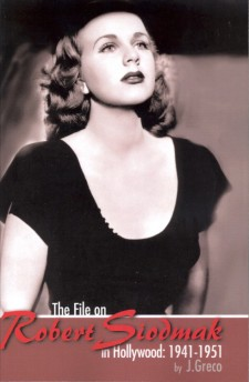 Greco J - The File on Robert Siodmak in Hollywood