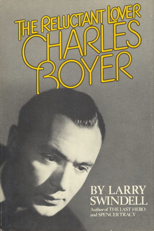 Swindell, Larry - The Reluctant Lover Charles Boyer