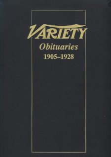 Variety Obituaries Vol 1 1905-1928