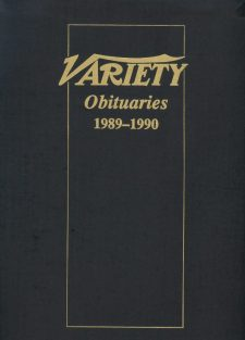 Variety Obituaries Vol 13 1989-1990