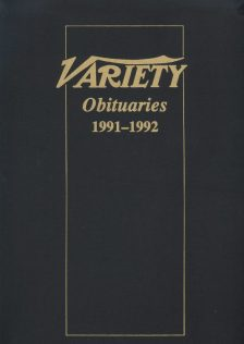 Variety Obituaries Vol 14 1991-1992