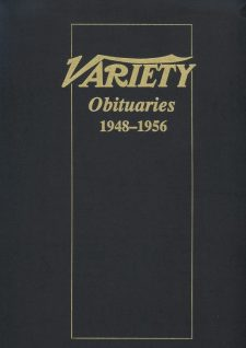 Variety Obituaries Vol 4 1948-1956