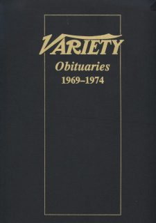 Variety Obituaries Vol 7 1969-1974