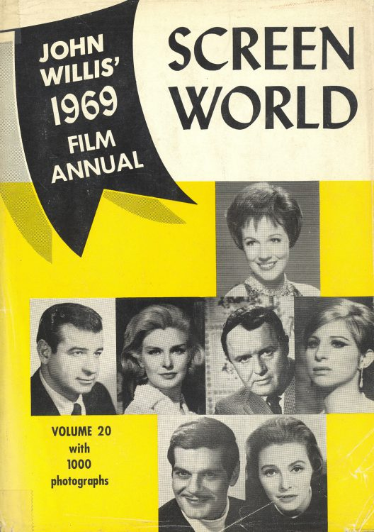 Willis, John - Screen World 1969