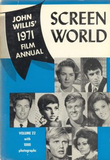 Willis, John - Screen World 1971