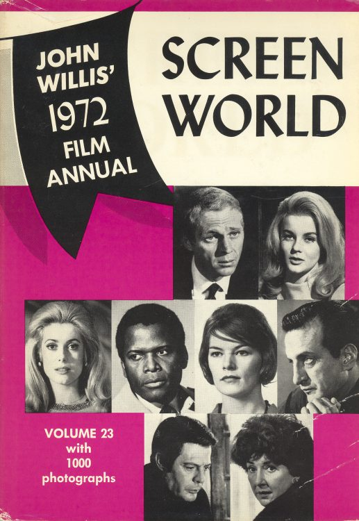 Willis, John - Screen World 1972
