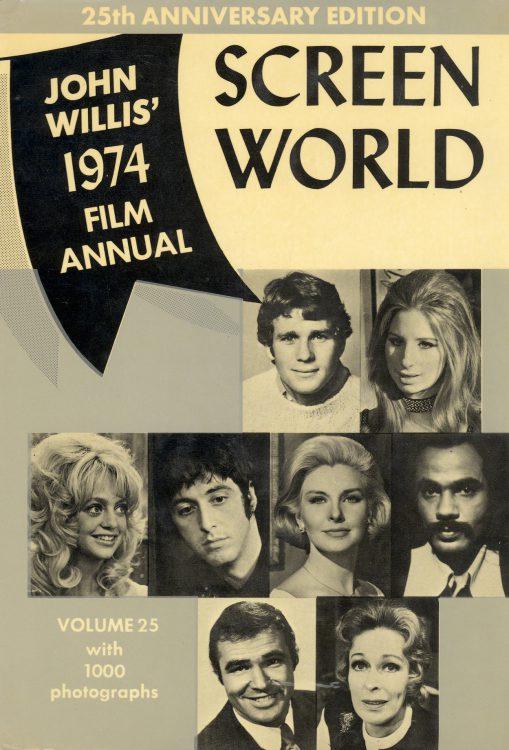 Willis, John - Screen World 1974