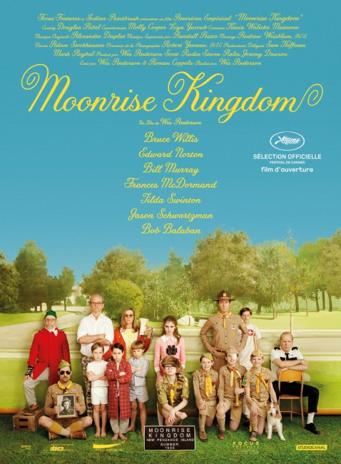 film pôster Moonrise Kingdom