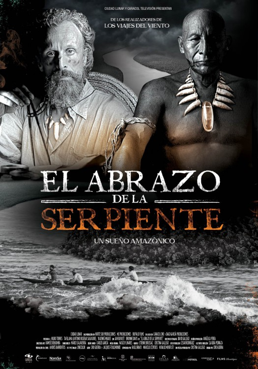 Film poster embrace of the serpent