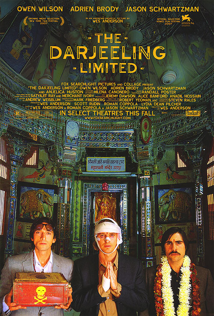 film poster The Darjeeling Limited