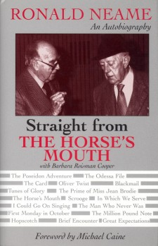 Neame, Ronald - Straight from te Horse's Mouth