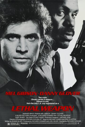 Richard Donner film poster Lethal Weapon