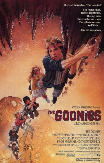 Richard Donner film poster The Goonies