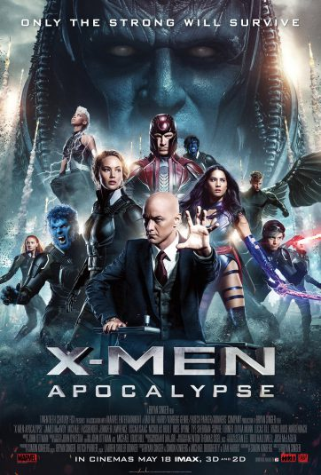 Richard Donner X-Men Apocalypse poster