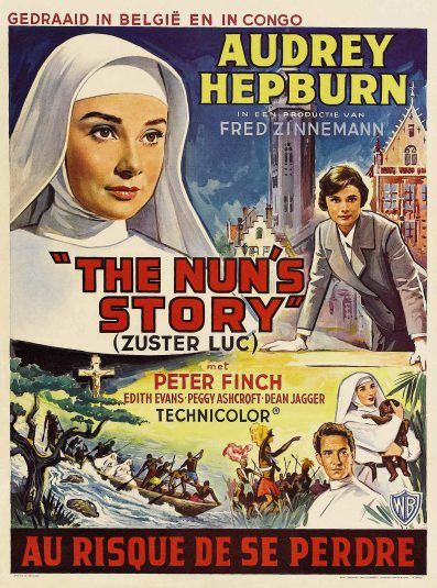 poster The Nun's Story