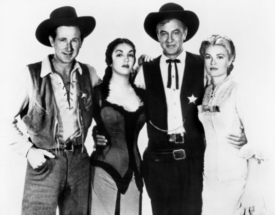 scan publicity still Lloyd Bridges, Katy Jurado, Gary Cooper, Grace Kelly in High Noon